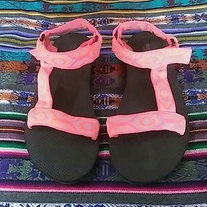 Hot Pink Sandles